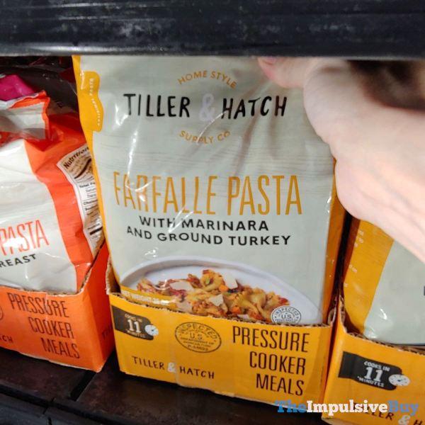 Tiller  Hatch Farfalle Pasta Pressure Cooker Meal