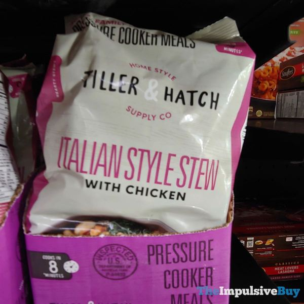 Tiller  Hatch Italian Style Stew with Chicken Pressure Cooker Meal