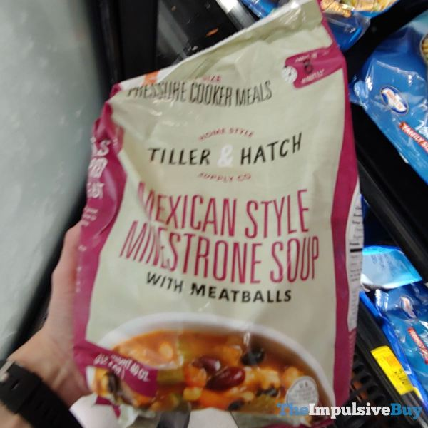 Tiller  Hatch Mexican Style Minestrone Soup Pressure Cooker Meal