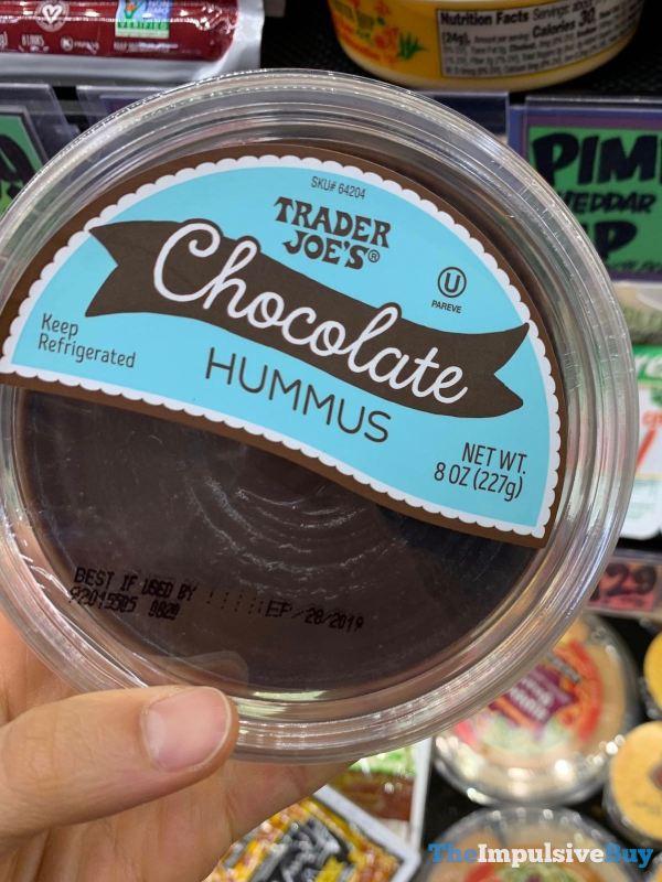 Trader Joe s Chocolate Hummus