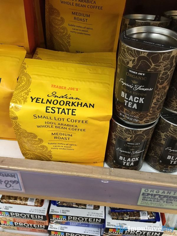 Trader Joe s Indian Yelnoorkhan Estate Small Lot Coffee