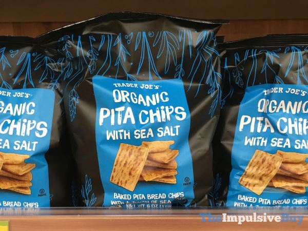 Trader Joe s Organic Pita Chips with Sea Salt