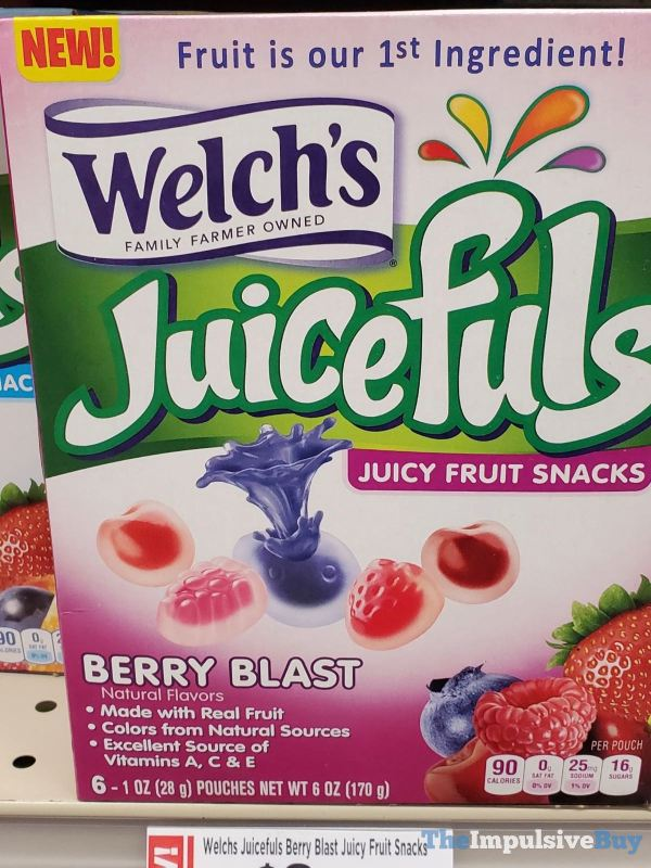 Welch s Berry Blast Juicefuls Juicy Fruit Snacks