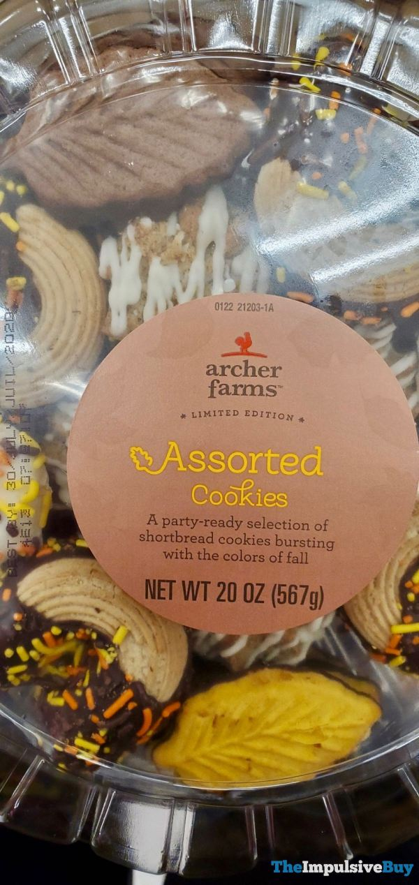 Archer Farms Limited Edition Assorted Fall Cookies