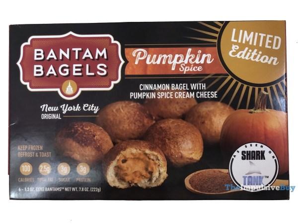 Bantam Bagels Limited Edition Pumpkin Spice Bagels