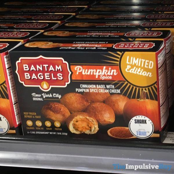 Bantam Bagels Limited Edition Pumpkin Spice