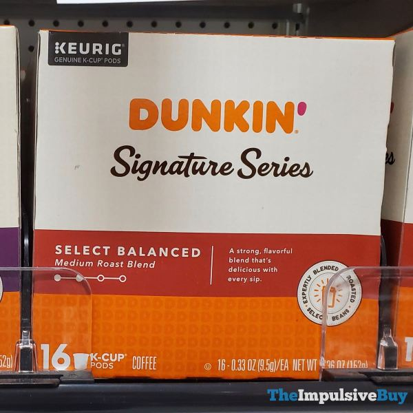 Dunkin Signature Series Select Balance K Cups