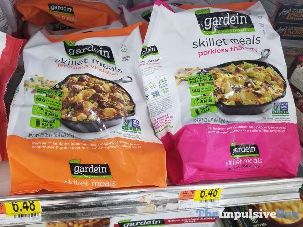 Gardein Skillet Meals Lambless Vindaloo and Porkless Thai Curry