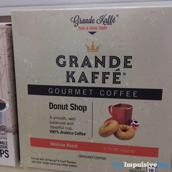 Grande Kaffe Donut Shop Gourmet Coffee K Cups
