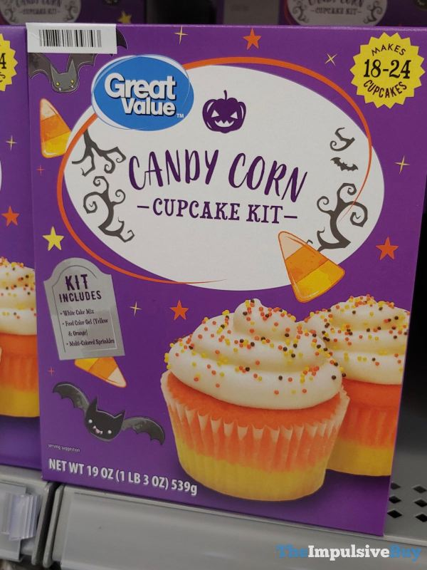 Great Value Candy Corn Cupcake Mix