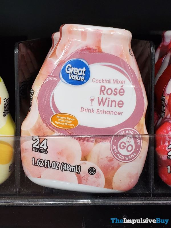 Great Value Cocktail Mixer Rose Wine Drink Enhancer