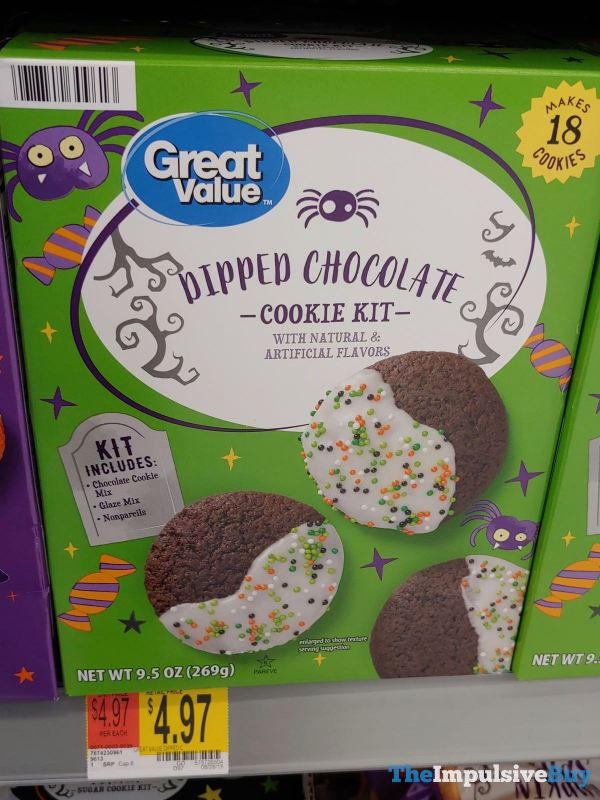 Great Value Dipped Chocolate Cookie Kit