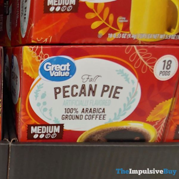 Great Value Fall Pecan Pie K Cups