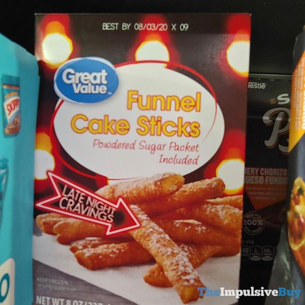 Great Value Late Night Cravings Funnel Cake Sticks