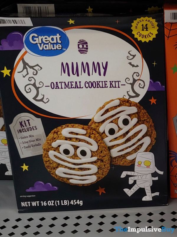 Great Value Mummy Oatmeal Cookie Kit