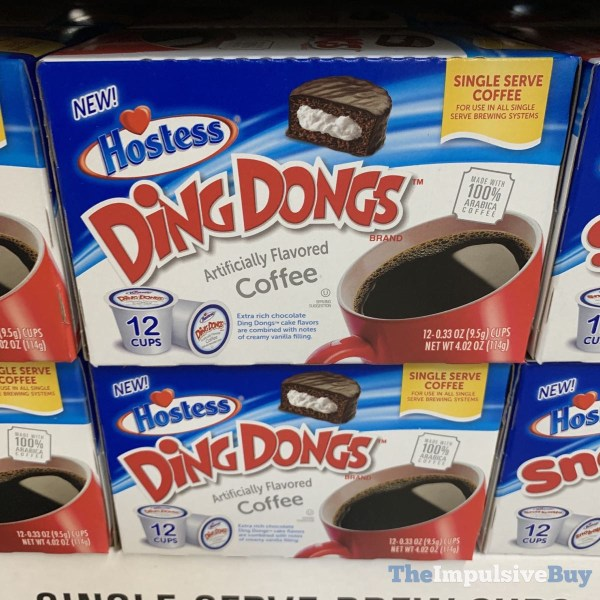 Hostess Ding Dongs Coffee K Cups