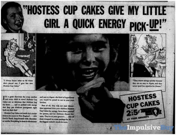 Hostess Limited Edition Iced Pumpkin CupCakes Ad