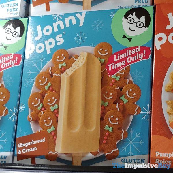 Jonny Pops Gingerbread  Cream