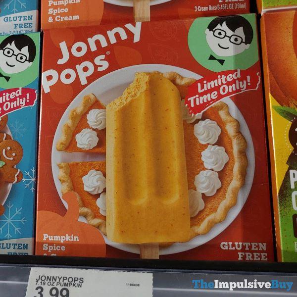 Jonny Pops Pumpkin Spice  Cream