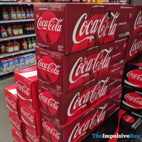 Limited Edition Coca Cola Cinnamon Fridge Pack