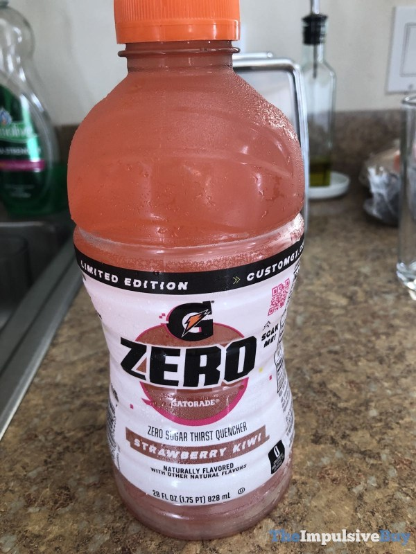 Limited Edition Strawberry Kiwi Gatorade Zero