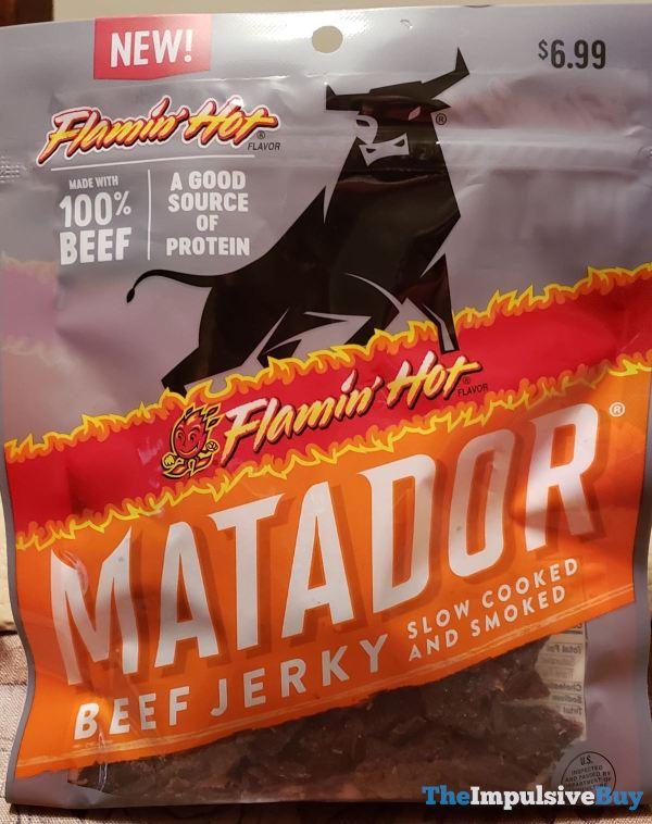 Matador Flamin Hot Beef Jerky