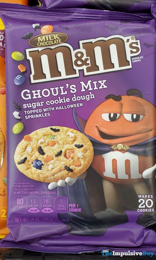 Milk Chocolate M M s Ghoul s Mix Sugar Cookie Dough