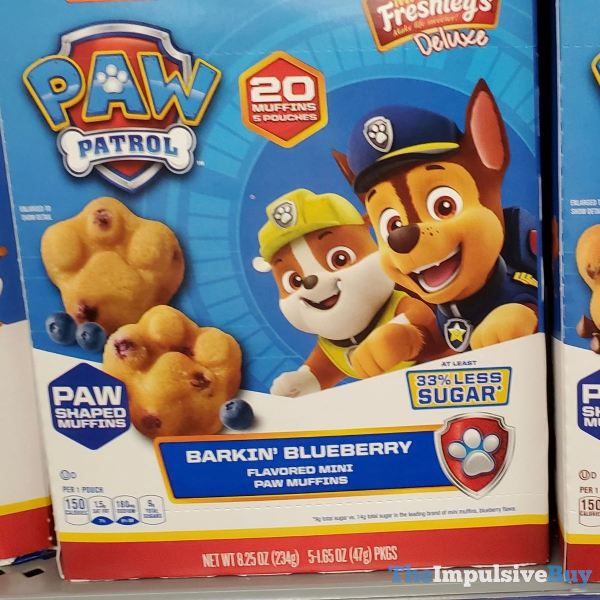 Mrs Freshley s Deluxe Paw Patrol Barkin Blueberry Paw Muffins
