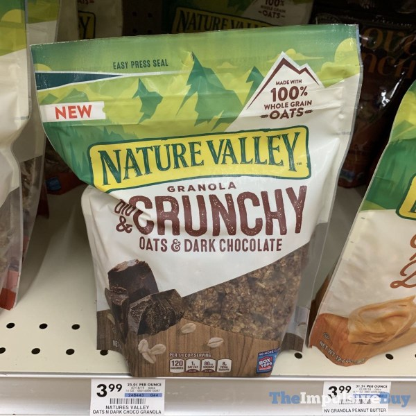 Nature Valley Big  Crunchy Oats  Dark Chocolate Granola