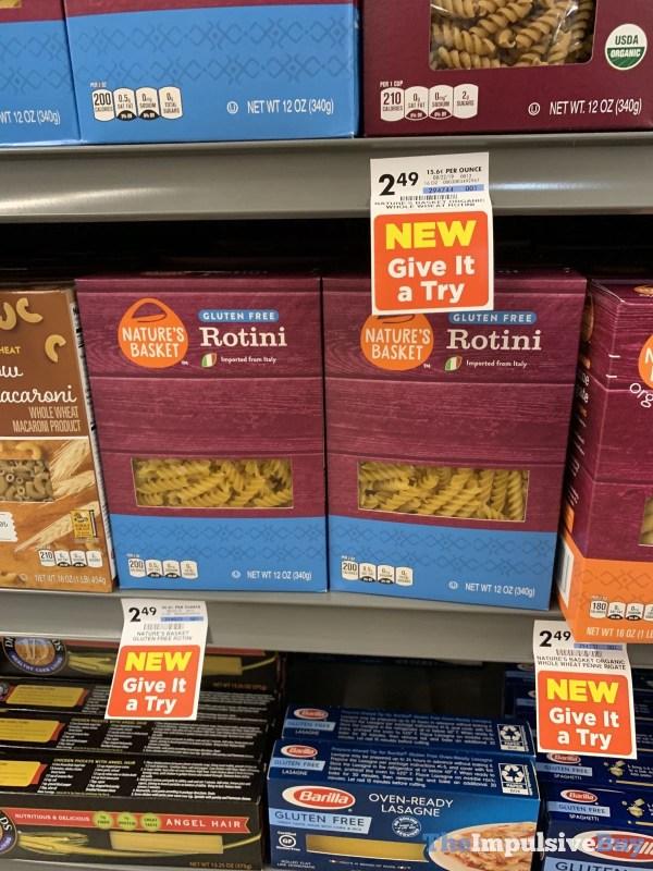 Nature s Basket Gluten Free Rotini