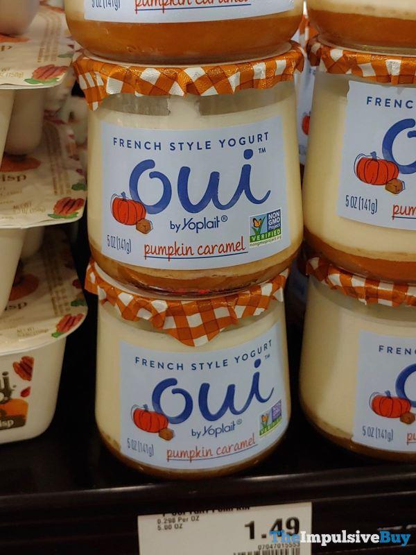 Oui by Yoplait Pumpkin Caramel French Style Yogurt