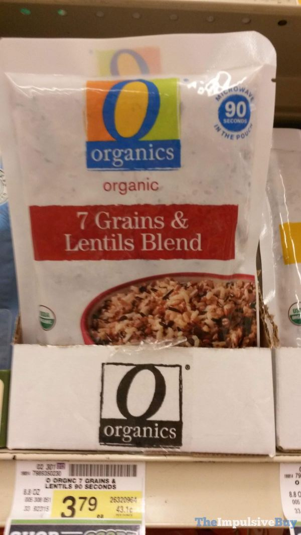 Safeway Organics Organic 7 Grains  Lentils Blend