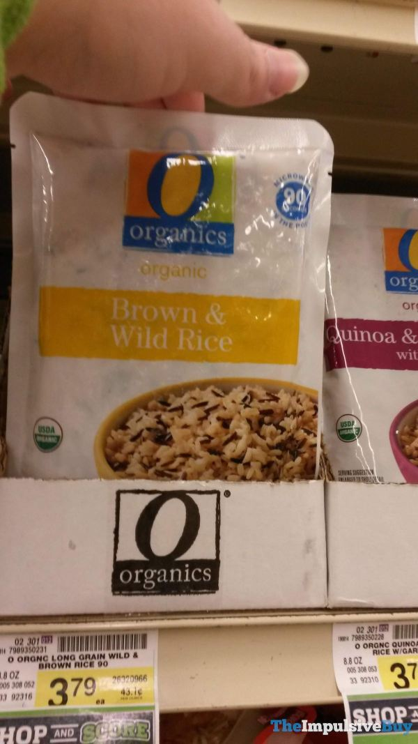 Safeway Organics Organic Brown  Wild Rice