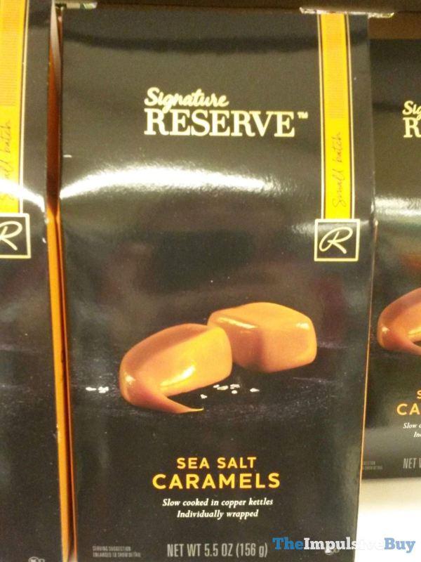 Safeway Signature Reserve Sea Salt Caramels