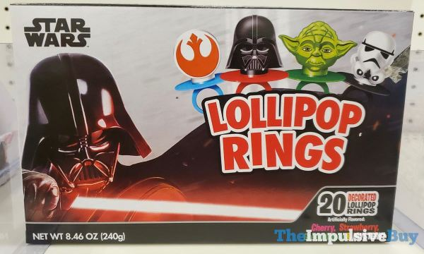 Star Wars Lollipop Rings