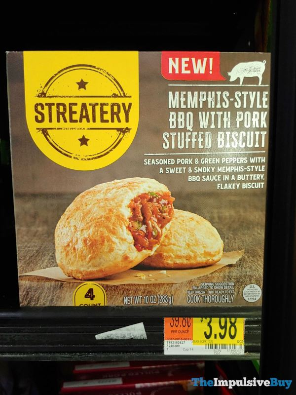 Streatery Memphis Style BBQ with Pork Stuffed Biscuit