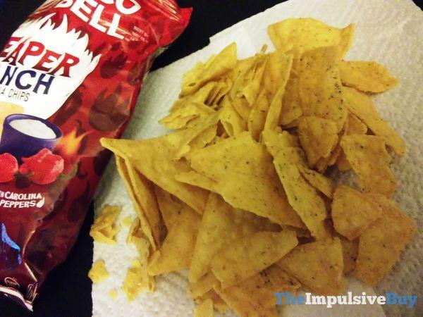 Taco Bell Reaper Ranch Tortilla Chips 2