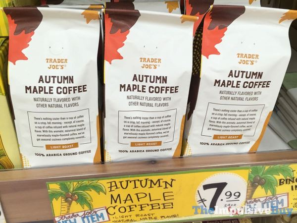 Trader Joe s Autumn Maple Coffee