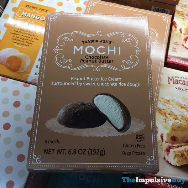 Trader Joe s Chocolate Peanut Butter Mochi
