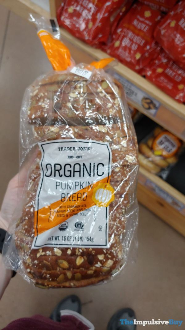 Trader Joe s Organic Pumpkin Bread