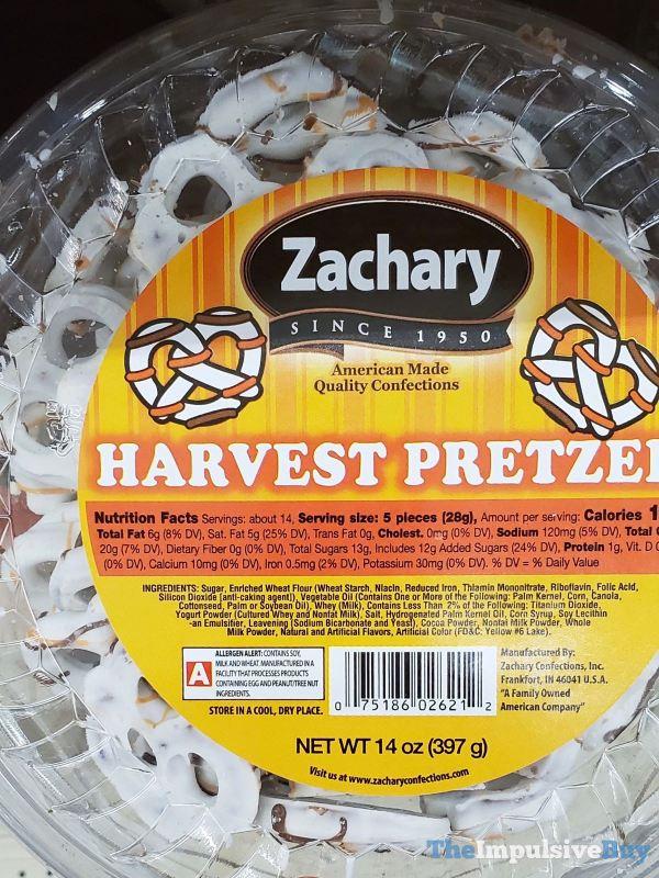 Zachary Harvest Pretzels