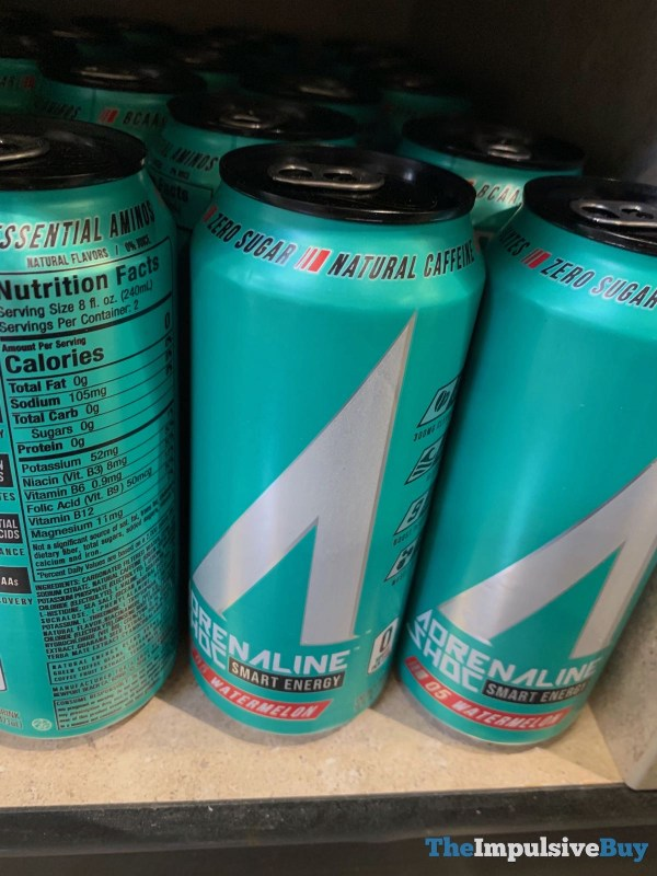 Adrenaline Shoc Watermelon Energy Drink