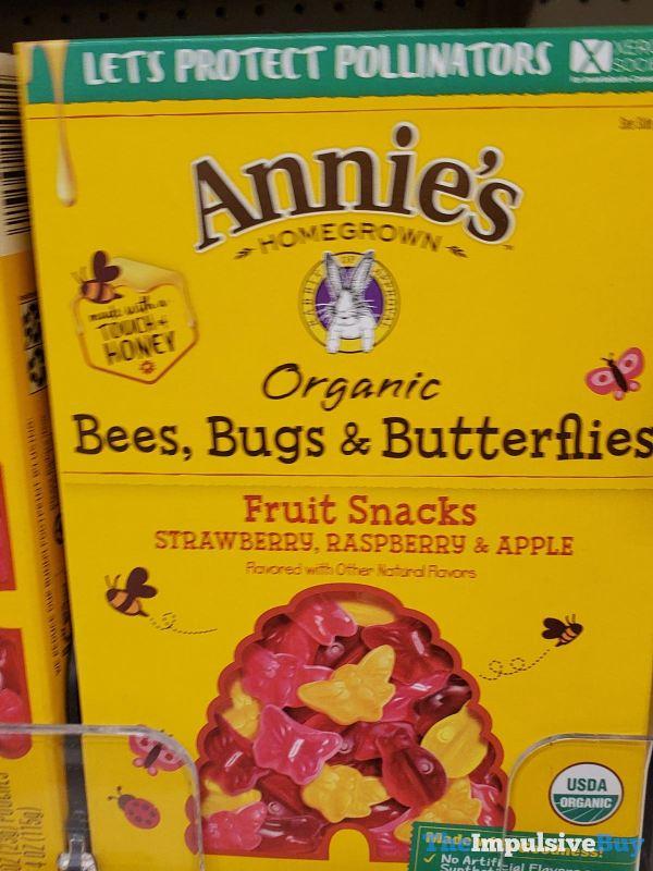 Annie s Organic Bees Bugs  Butterflies Fruit Snacks