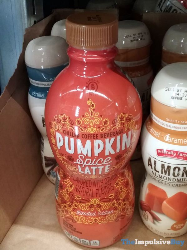 Barissimo Coffee Pumpkin Spice Latte Chilled Coffee Beverage