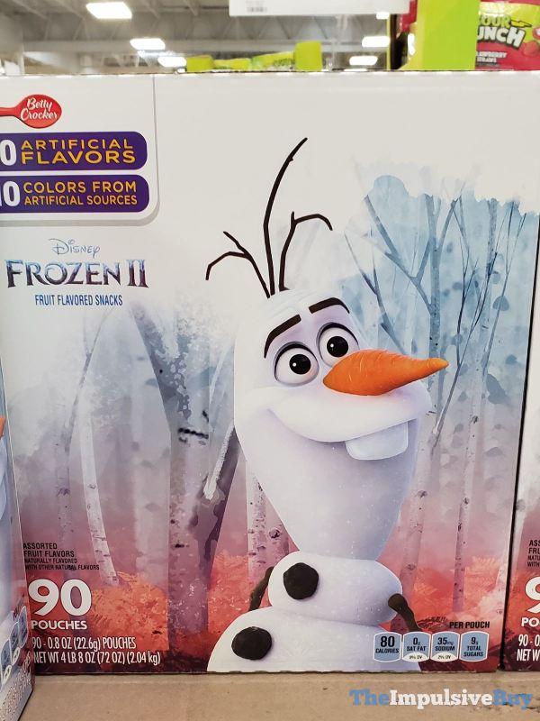 Betty Crocker Disney Frozen II Fruit Flavored Snacks 90 Pack