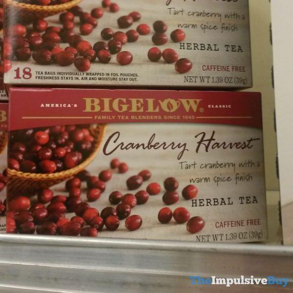 Bigelow Cranberry Harvest Herbal Tea