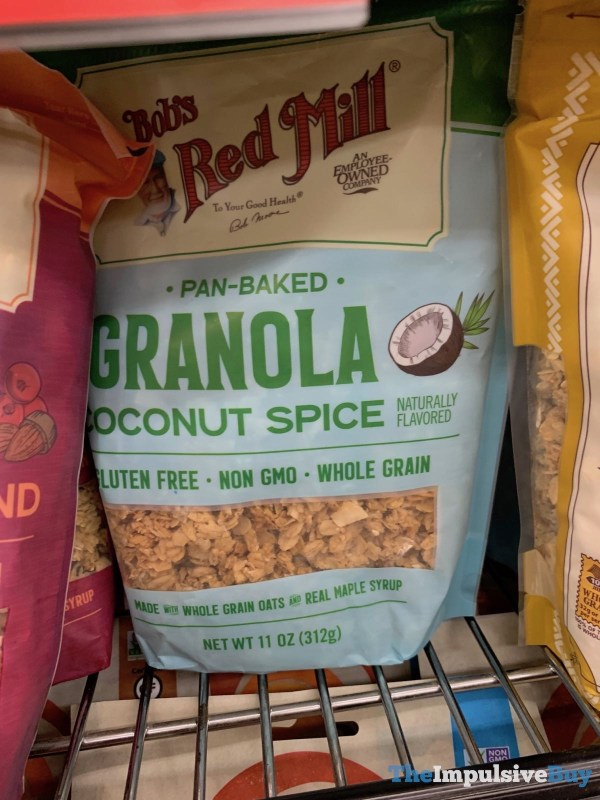 Bob s Red Mill Pan Baked Coconut Spice Granola