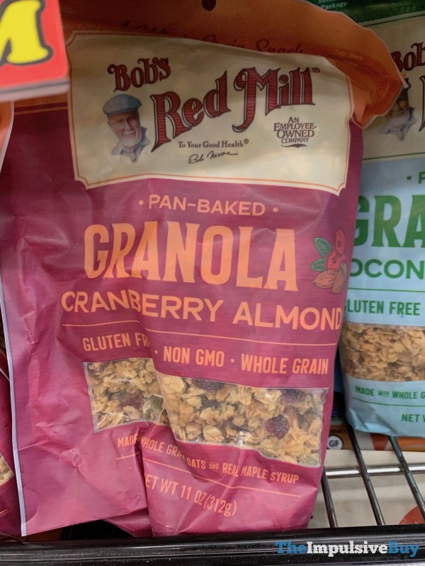 Bob s Red Mill Pan Baked Cranberry Almond Granola