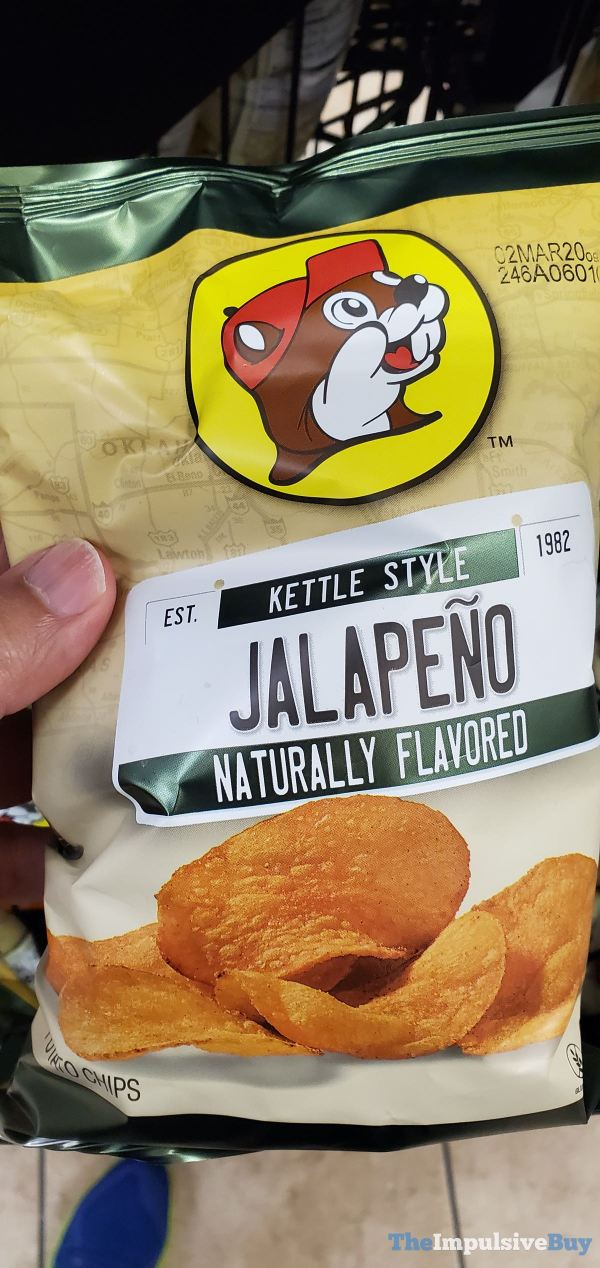 Buc ee s Jalapeno Kettle Style Potato Chips