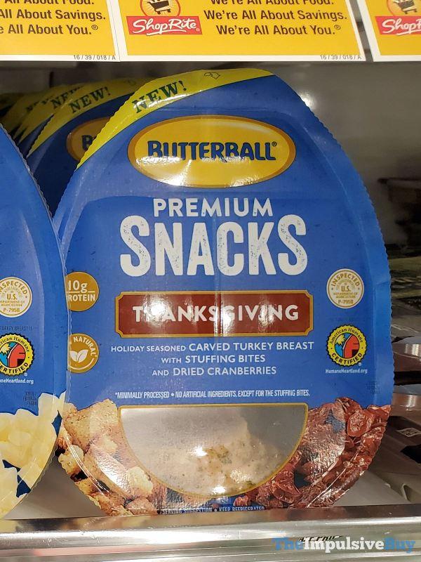 Butterball Premium Snacks Thanksgiving